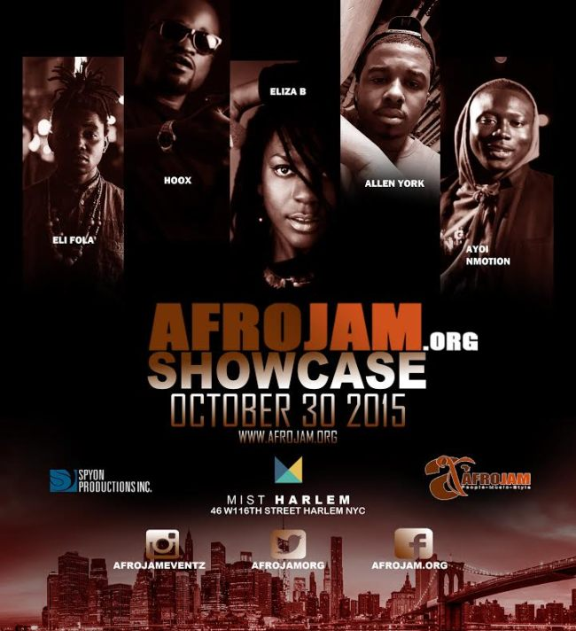 AFROJAM SHOWCASE