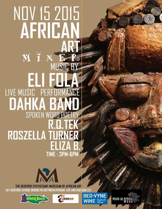 AFRICAN ART MIXER