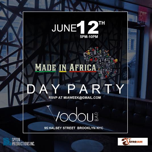 MADE IN AFRICA DAY PARTY